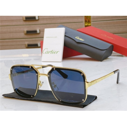 Cartier AAA Quality Sunglasses #817760