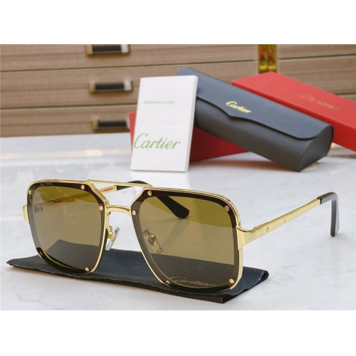 Cartier AAA Quality Sunglasses #817763