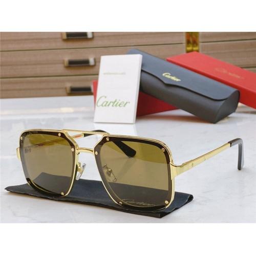 Cartier AAA Quality Sunglasses #817763