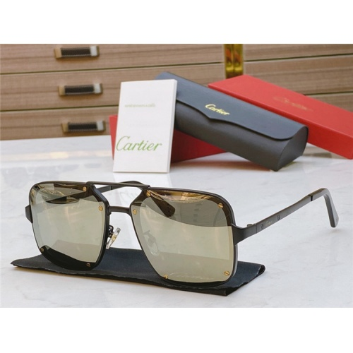 Cartier AAA Quality Sunglasses #817764
