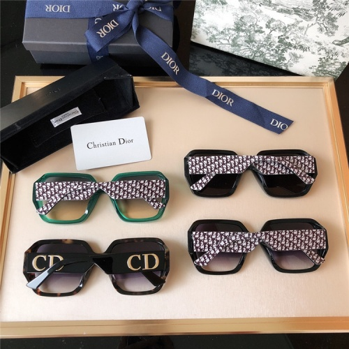 Replica Christian Dior AAA Quality Sunglasses #817798 $65.00 USD for Wholesale