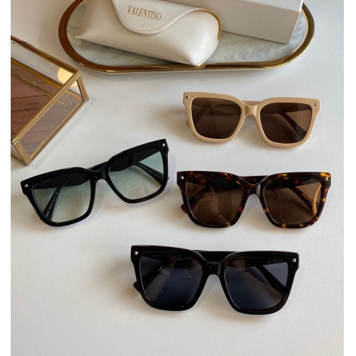 Replica Valentino AAA Quality Sunglasses #817813 $60.00 USD for Wholesale