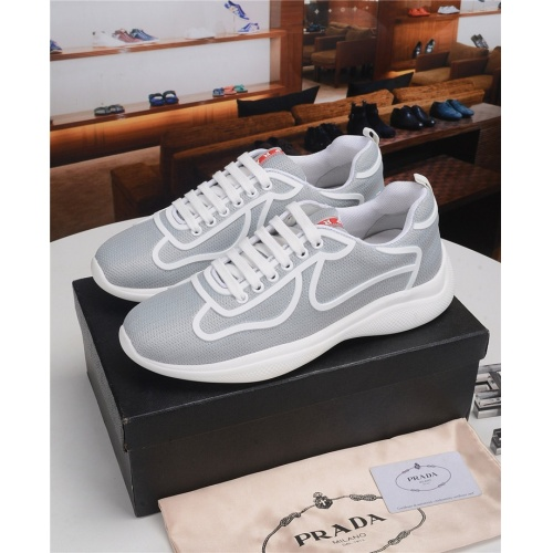 Prada Casual Shoes For Men #817837 $123.00, Wholesale Replica Prada Casual Shoes
