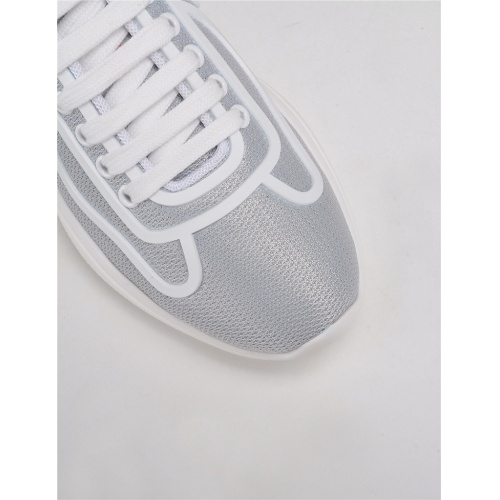Replica Prada Casual Shoes For Men #817837 $123.00 USD for Wholesale