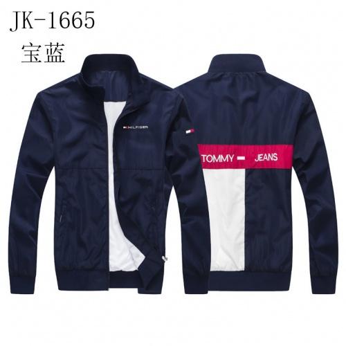 Tommy Hilfiger TH Jackets Long Sleeved Zipper For Men #817891