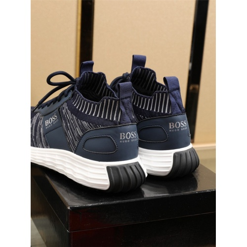 Replica Boss Casual Shoes For Men #817931 $82.00 USD for Wholesale