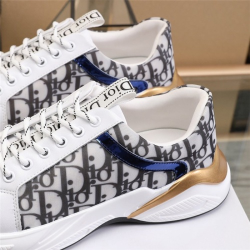 Replica Christian Dior Casual Shoes For Men #817947 $82.00 USD for Wholesale