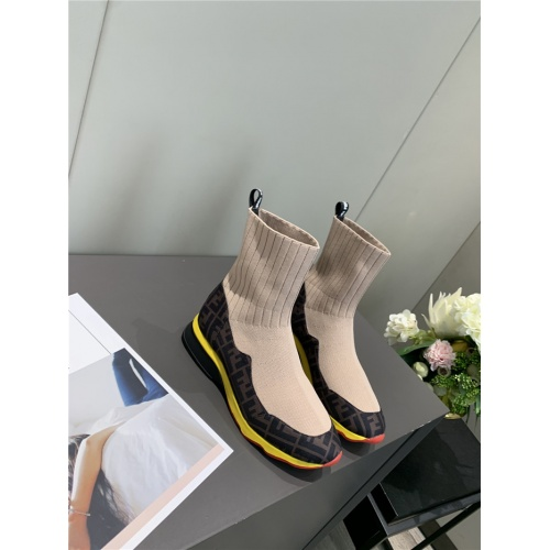 Fendi Fashion Boots For Women #818023