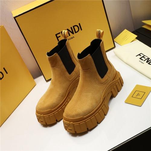 Fendi Fashion Boots For Women #818025