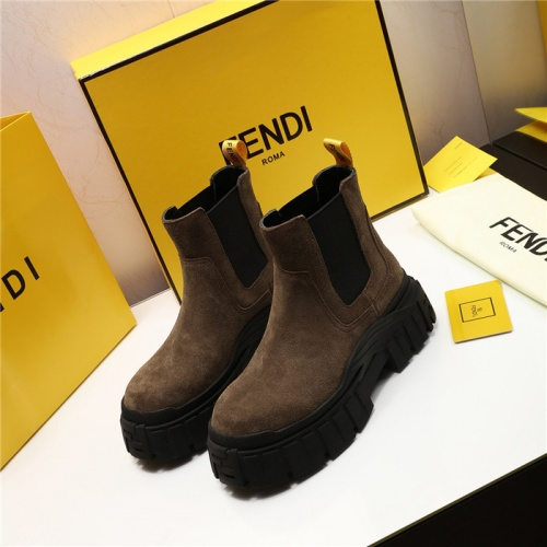 Fendi Fashion Boots For Women #818026