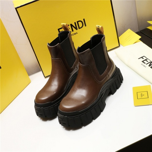 Fendi Fashion Boots For Women #818027