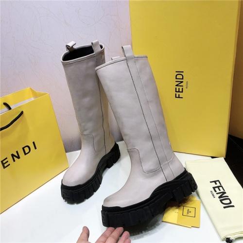 Fendi Fashion Boots For Women #818033