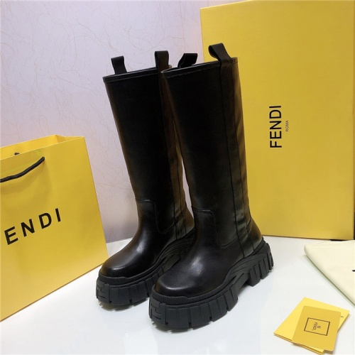 Fendi Fashion Boots For Women #818034