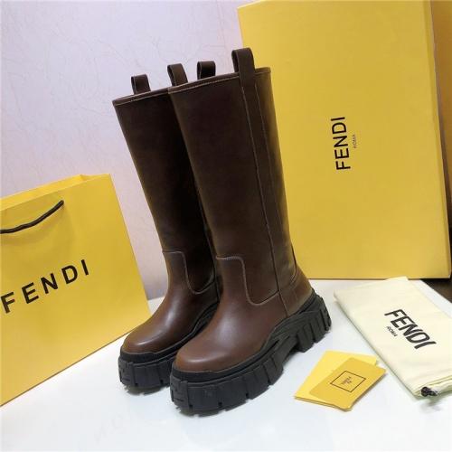 Fendi Fashion Boots For Women #818035