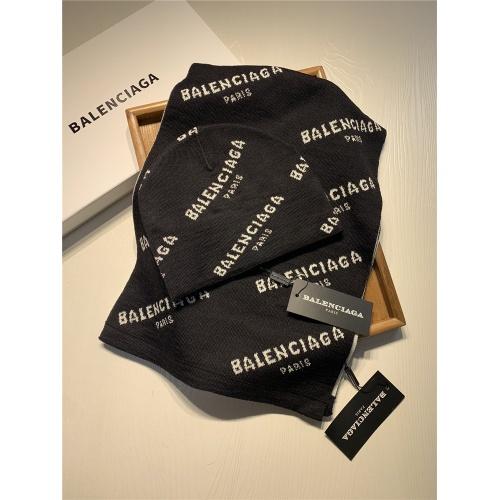 Balenciaga Scarf & Hat Set #818045