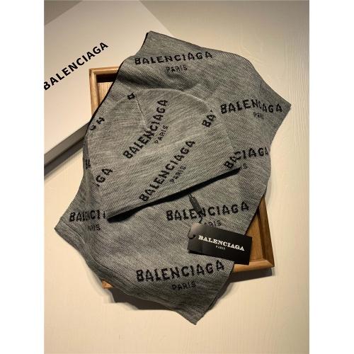 Balenciaga Scarf & Hat Set #818046
