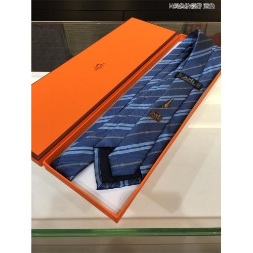 Replica Hermes Necktie For Men #818134 $41.00 USD for Wholesale