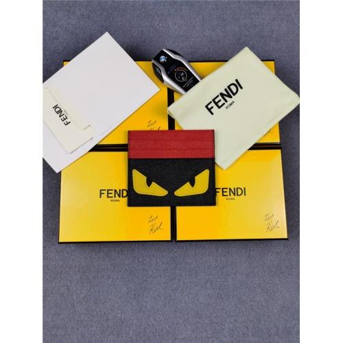 Fendi AAA Man Wallets #818176