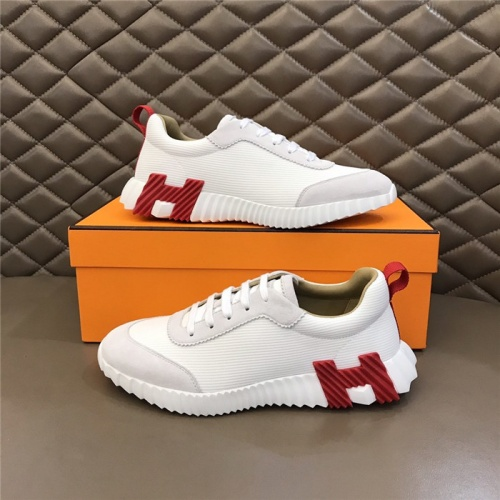 Hermes Casual Shoes For Men #818236 $76.00 USD, Wholesale Replica Hermes Casual Shoes