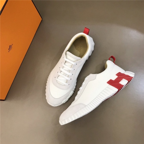 Replica Hermes Casual Shoes For Men #818236 $76.00 USD for Wholesale