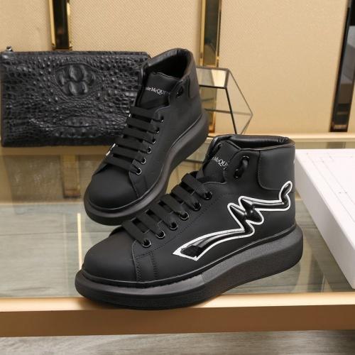Alexander McQueen High Tops Shoes For Men #818274