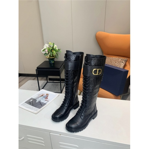 Christian Dior Boots For Women #818304 $135.00 USD, Wholesale Replica Christian Dior Boots