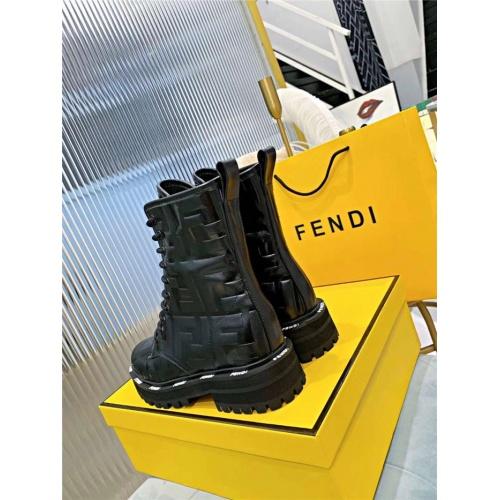 Replica Fendi Fashion Boots For Women #818320 $115.00 USD for Wholesale