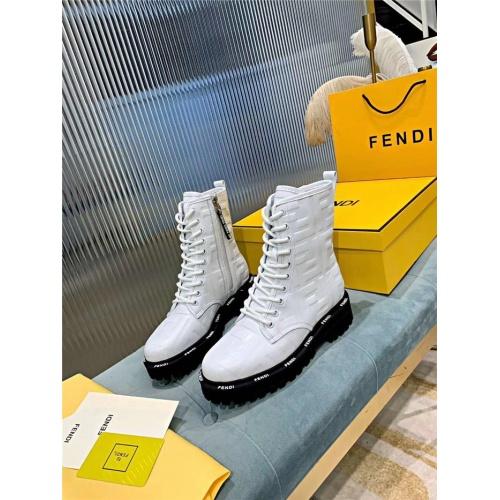 Fendi Fashion Boots For Women #818321 $115.00 USD, Wholesale Replica Fendi Fashion Boots