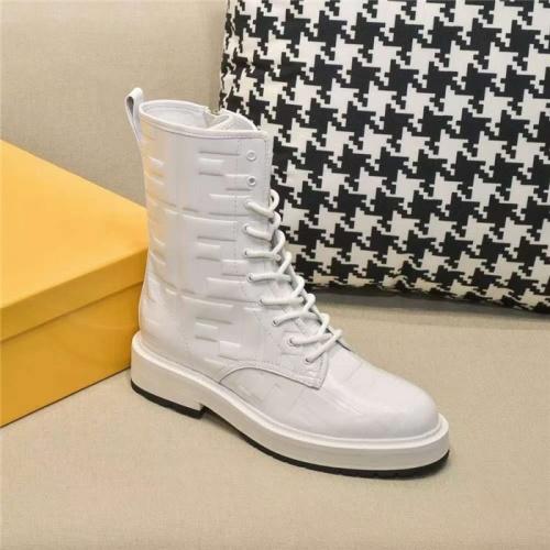 Replica Fendi Fashion Boots For Women #818322 $108.00 USD for Wholesale