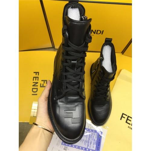 Replica Fendi Fashion Boots For Women #818324 $112.00 USD for Wholesale