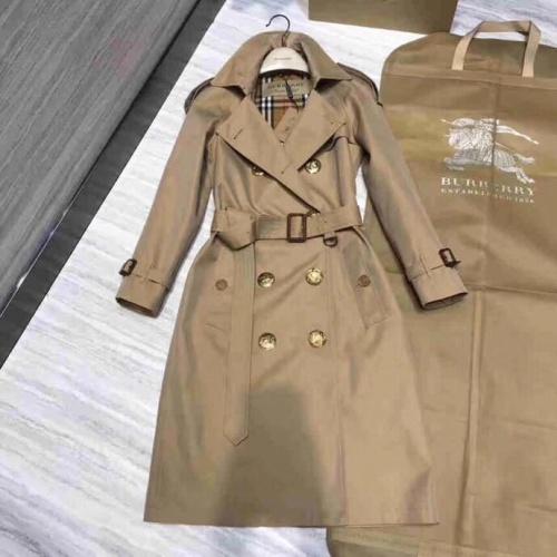 Burberry Windbreaker Jacket Long Sleeved Polo For Women #818331