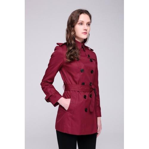 Burberry Windbreaker Jacket Long Sleeved Polo For Women #818333