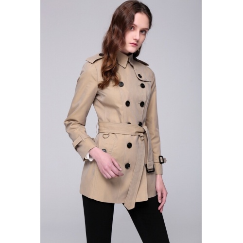 Burberry Windbreaker Jacket Long Sleeved Polo For Women #818334