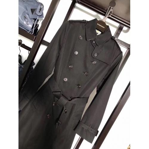 Burberry Windbreaker Jacket Long Sleeved Polo For Women #818346