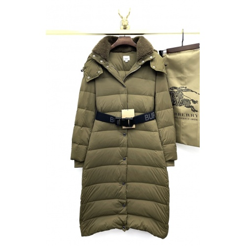 Burberry Down Feather Coat Long Sleeved For Women #818517