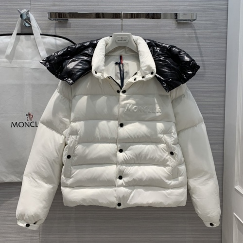 Moncler Down Feather Coat Long Sleeved Zipper For Unisex #818528