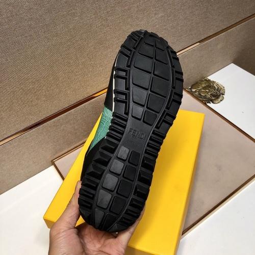 Replica Fendi Casual Shoes For Men #818552 $92.00 USD for Wholesale