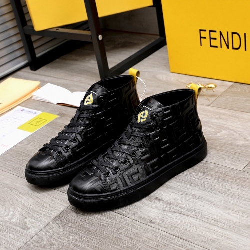 Fendi High Tops Casual Shoes For Men #818558