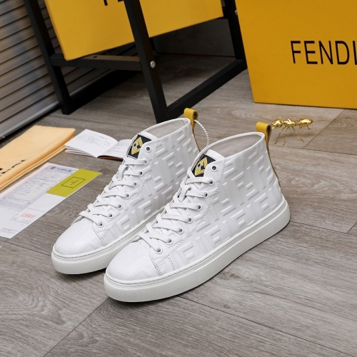 Fendi High Tops Casual Shoes For Men #818559
