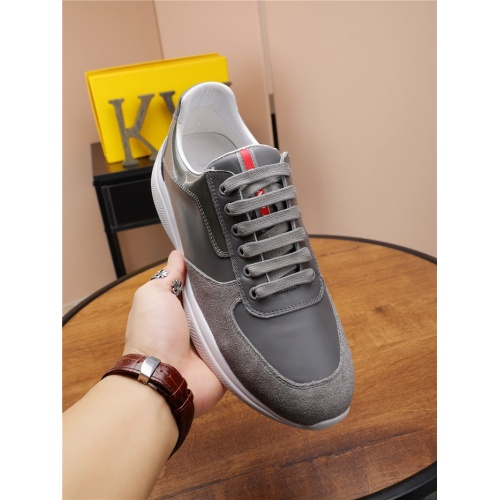 Replica Prada Casual Shoes For Men #818575 $76.00 USD for Wholesale