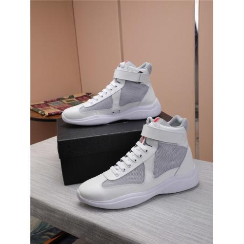 Prada High Tops Shoes For Men #818578