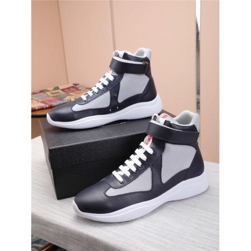 Prada High Tops Shoes For Men #818580