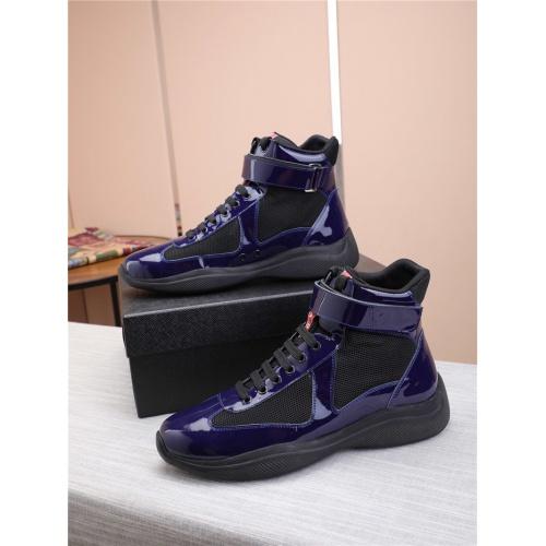 Prada High Tops Shoes For Men #818581