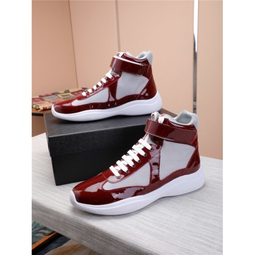 Prada High Tops Shoes For Men #818582