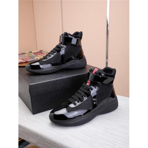 Prada High Tops Shoes For Men #818583