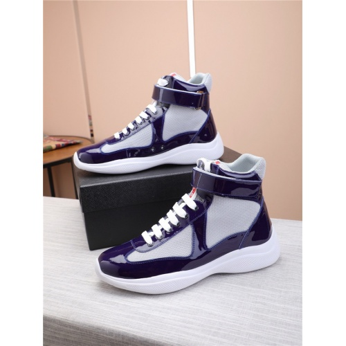 Prada High Tops Shoes For Men #818584