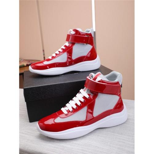 Prada High Tops Shoes For Men #818585