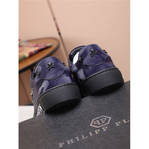 Replica Philipp Plein PP Casual Shoes For Men #818588 $80.00 USD for Wholesale