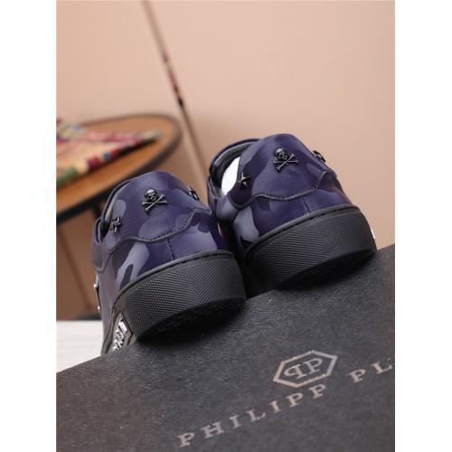 Replica Philipp Plein PP Casual Shoes For Men #818588 $80.00 USD for Wholesale