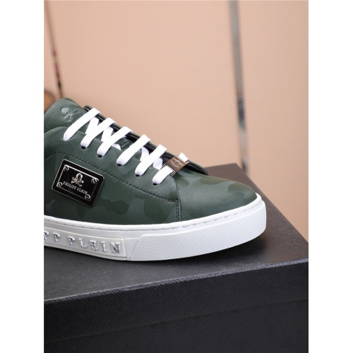 Replica Philipp Plein PP Casual Shoes For Men #818589 $80.00 USD for Wholesale